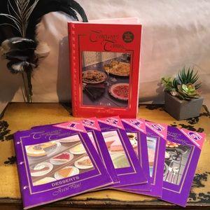 Company's Coming Pasta and Desserts cookbooks